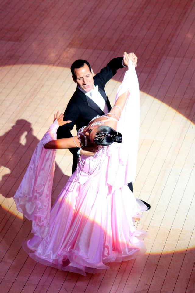 Caroline Malkinson, Finalist - 2011 British Ballroom Championships (Blackpool) and WDC World Championships (Paris)