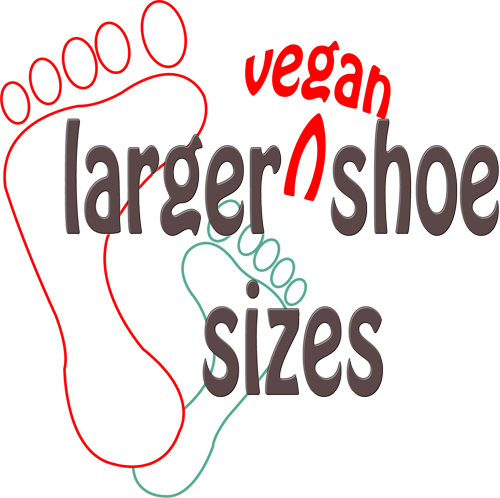 larger shoe size logo
