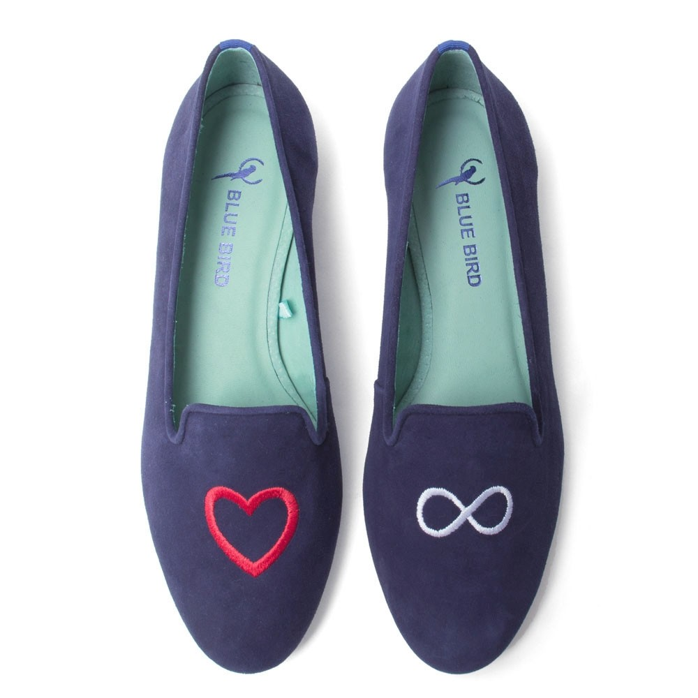 LOAFER AMOR INFINITO AZUL