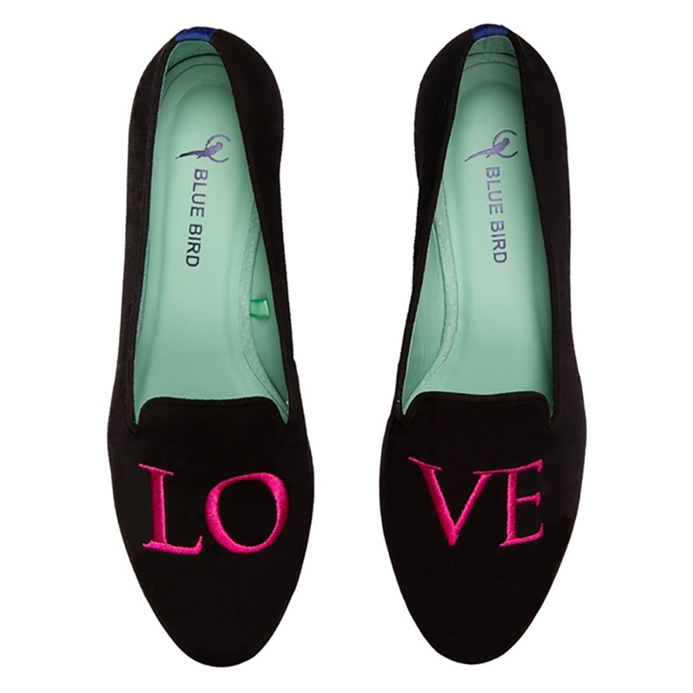LOAFER LOVE CLASSICO PINK VELUDO