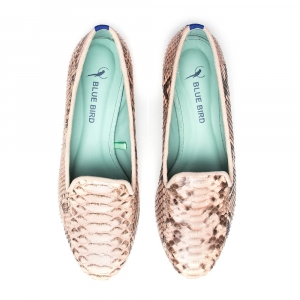 LOAFER PHYTON EXOTICO NUDE