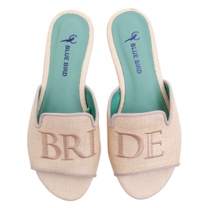 SHOWER FLAT BRIDE PALHA NUDE