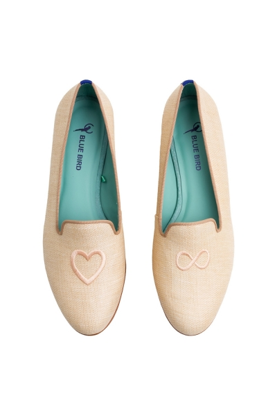 LOAFER AMOR INFINITO PALHA NATURAL