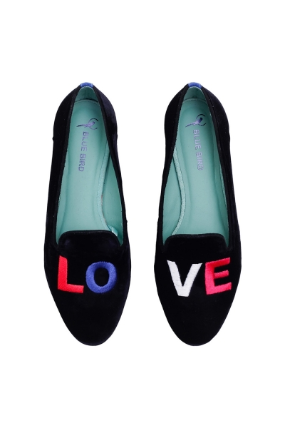 LOAFER LOVE DIANA VELUDO