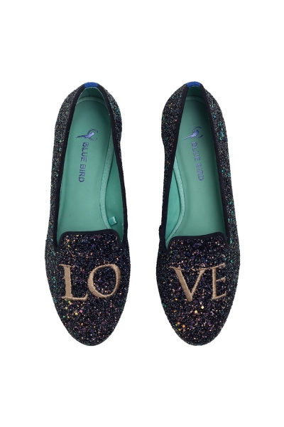 LOAFER LOVE GLITTER