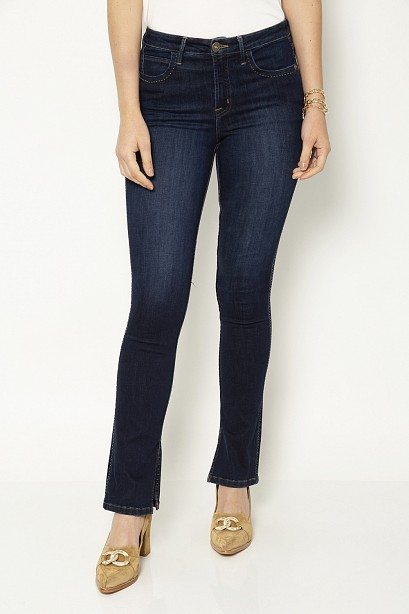 CALÇA BOOT CUT FENDA