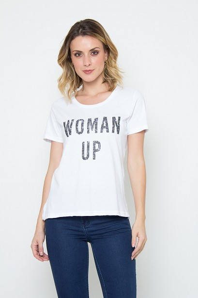CAMISETA WOMAN UP