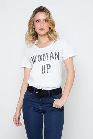 CAMISETA WOMAN UP