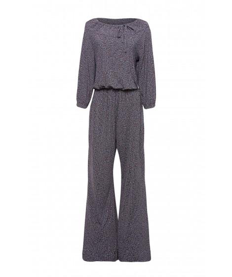 macacão jersey textura pantalona