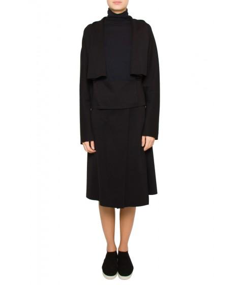casaco dupla leve recorte