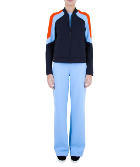 jaqueta novo esportivo tricolor