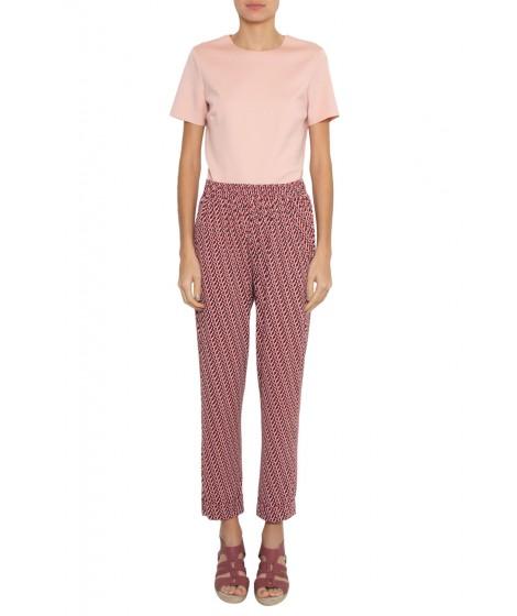blusa malha  dupla leve justa manga curta