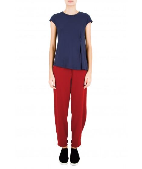 blusa viscose assimétrica