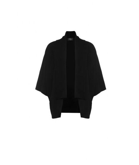 casaco bouclê quimono