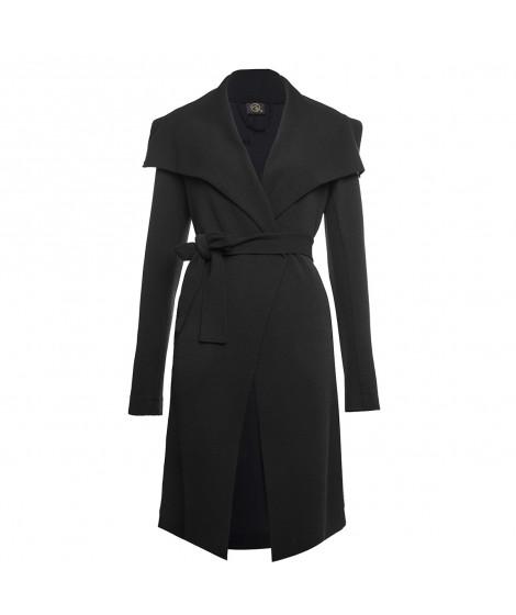 casaco bouclê longo