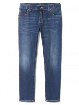 Calça masculina infantil jeans slim