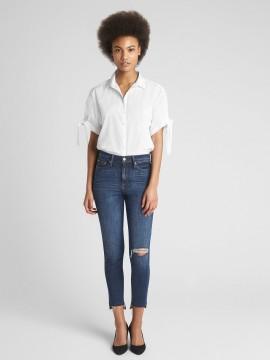 Camisa feminina adulto com bolso