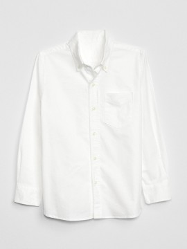 Camisa masculina infantil lisa com bolso
