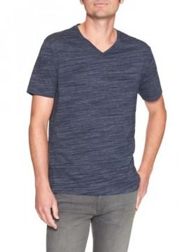 Camiseta masculina adulto básica gola V