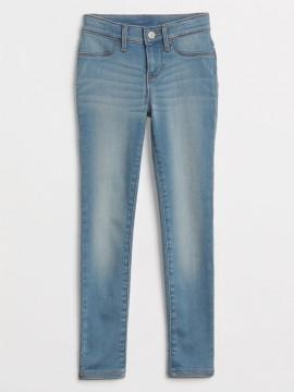 Calça feminina infantil jeans jegging