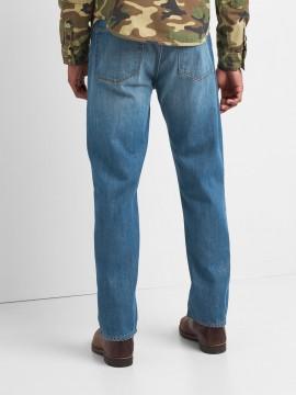 Calça masculina adulto jeans standard