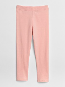 Calça legging feminina infantil lisa