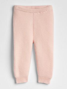 Calça baby girl em tricô liso