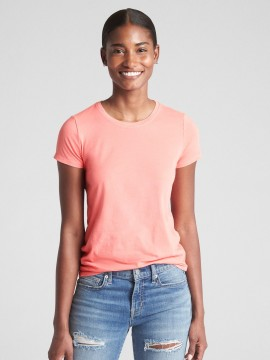 Camiseta feminina adulto lisa gola careca