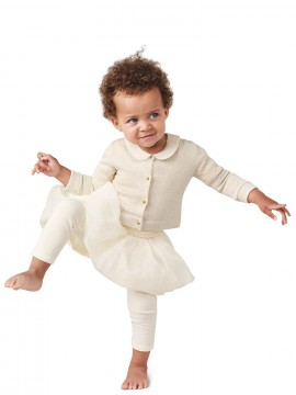 Legging baby girl com babados