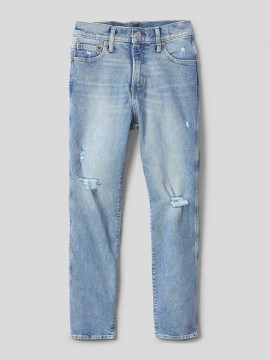 Calça feminina adulto jeans straight