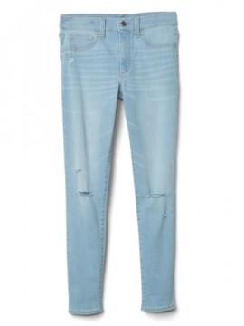 Calça feminina adulto jeans jegging