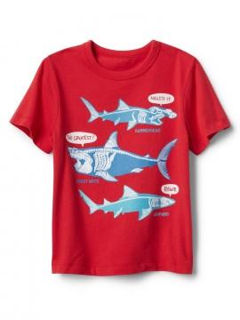 Camiseta masculina infantil com estampa