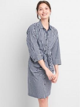 Vestido feminino adulto chemise estampado