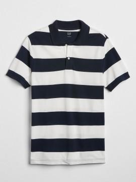 Camiseta polo masculino adulto listrada