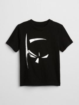 Camiseta masculina infantil com estampa do Batman