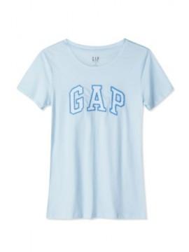 Camiseta feminina adulto lisa com LOGO tramado