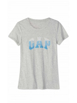 Camiseta feminina adulto lisa com LOGO