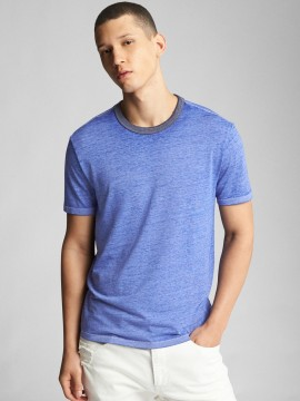 Camiseta masculina adulto lisa