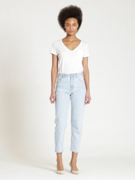 Calça feminina adulto jeans