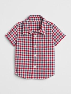 Camisa baby boy xadrez