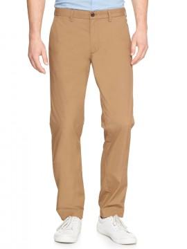 Calça masculina adulto slim lightweight khaki