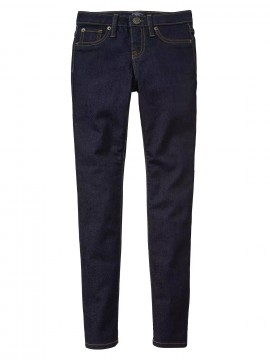 Calça feminina infantil jeans super skinny