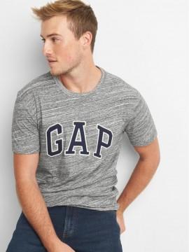 Camiseta masculina adulto lisa com LOGO