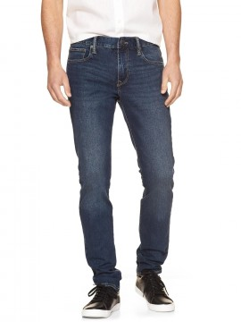 Calça masculina adulto jeans skinny