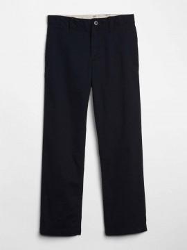 Calça masculina infantil lisa khaki