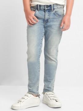 Calça masculina infantil jeans skinny light