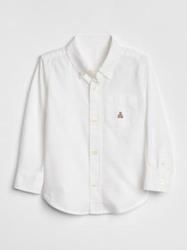 Camisa masculina infantil em Oxford