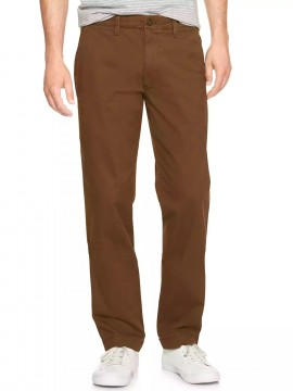 Calça masculina adulto slim khaki