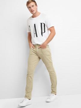 Calça masculina adulto skinny color com GapFlex Max