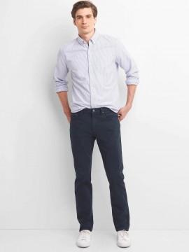 Calça masculina adulto slim color com GapFlex
